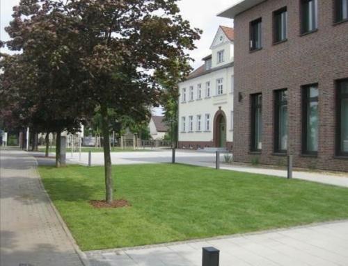 Freiflächengestaltung Rathaus Kolkwitz