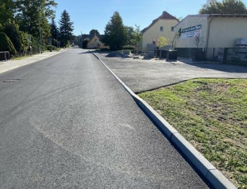 Erneuerung der Kreisstraße k6131 Walddrehna