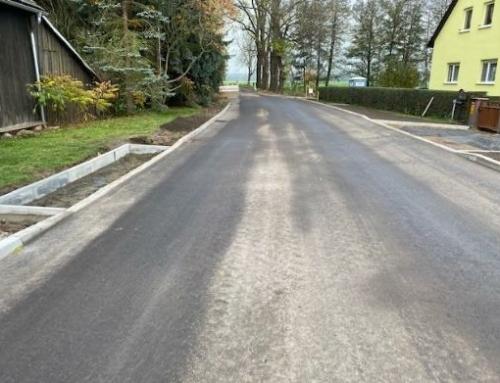 Erneuerung der Kreisstraße in Zieckau